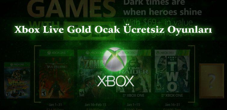 Xbox Live Gold 2018 Ocak Ayı Ücretsiz Oyunları