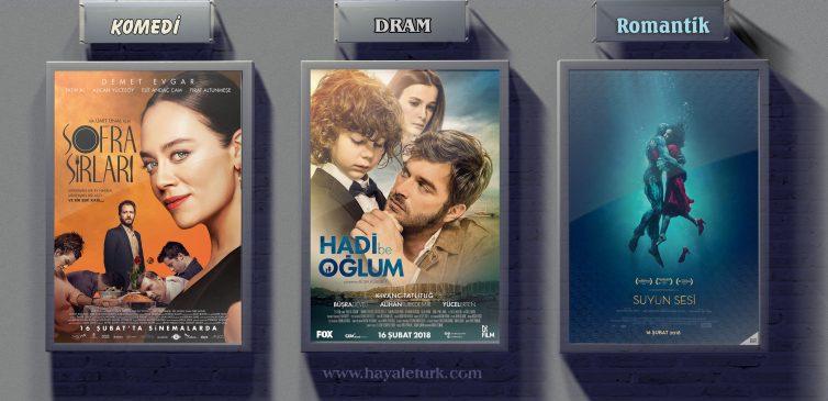 Sinemalarda bu hafta 8 Film Vizyonda 16 - 23 Şubat 2018