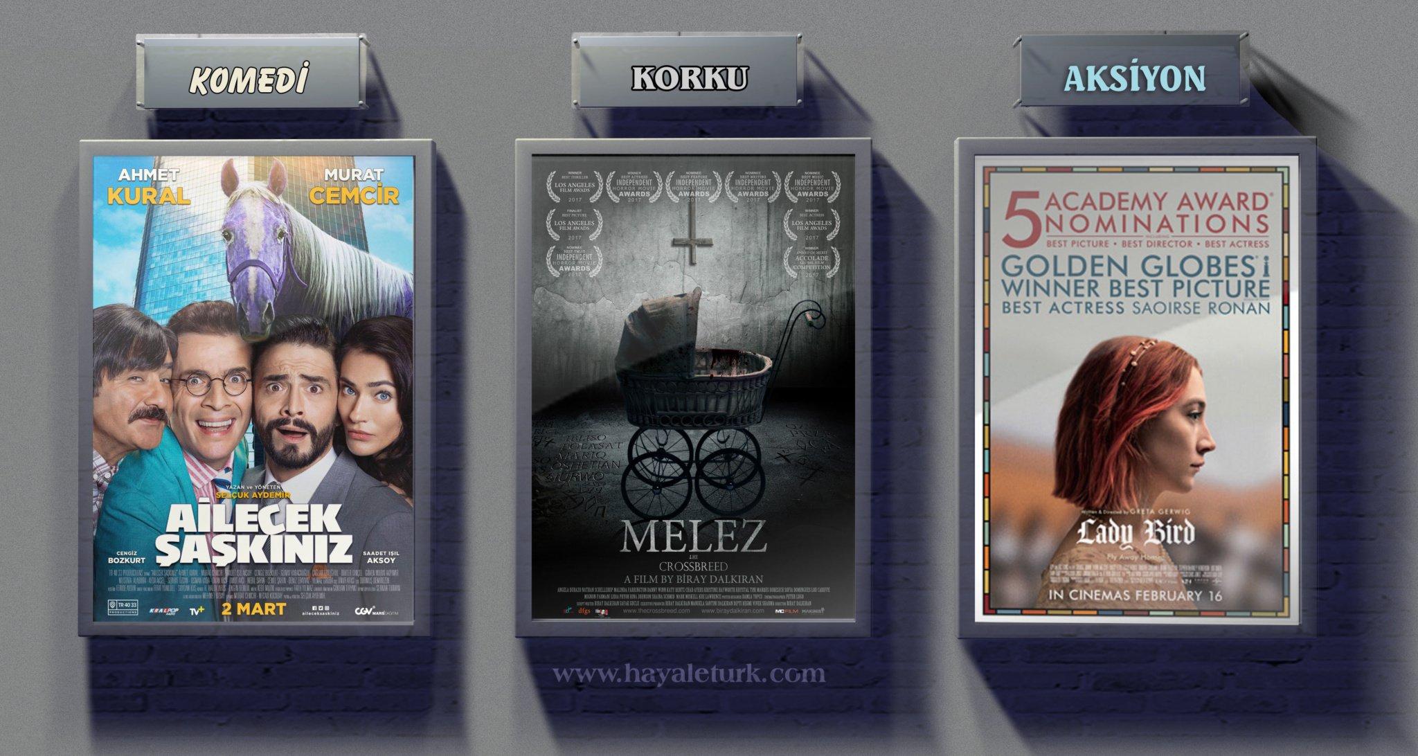 Sinemalarda bu hafta 7 Film Vizyonda 2 - 9 Mart 2018