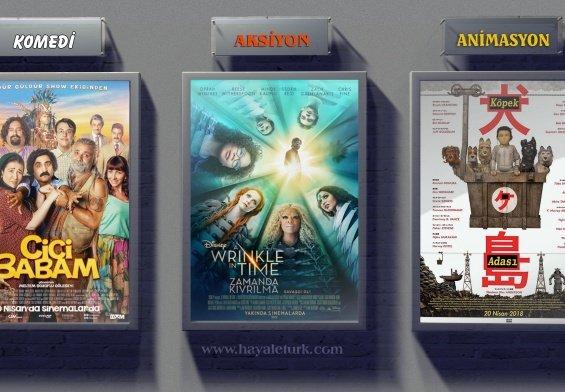 Sinemalarda bu hafta 10 Film Vizyonda 20 - 27 Nisan 2018