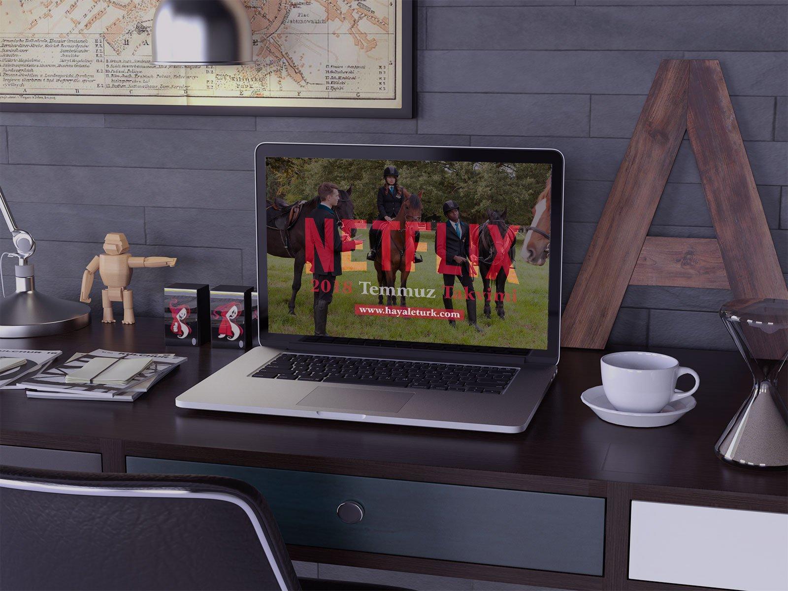 Netflix Türkiye 2018 Temmuz Ayı Takvimi