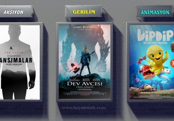 Sinemalarda bu hafta 8 Film vizyonda 27 Temmuz - 3 Ağustos 2018