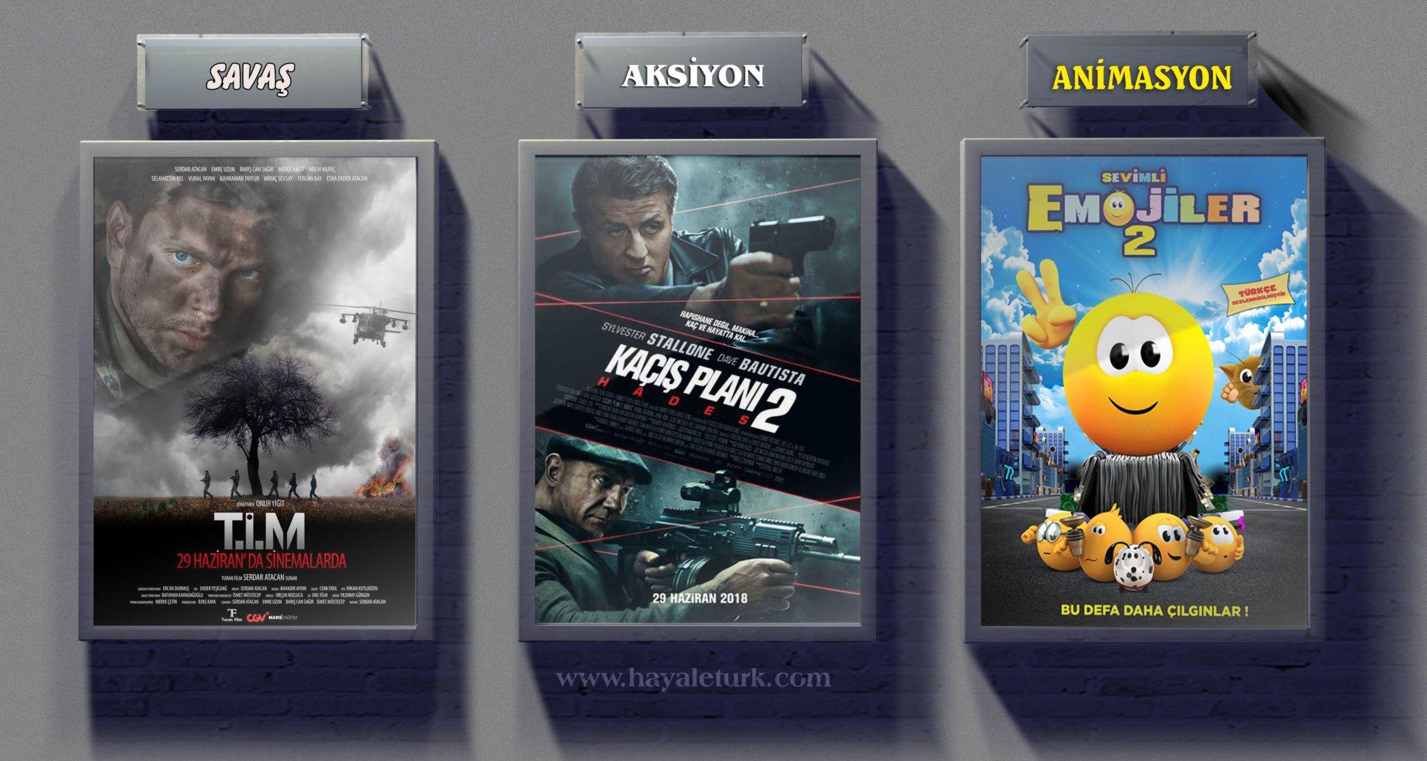 Sinemalarda bu hafta 9 Film vizyonda 29 Haziran – 6 Temmuz 2018