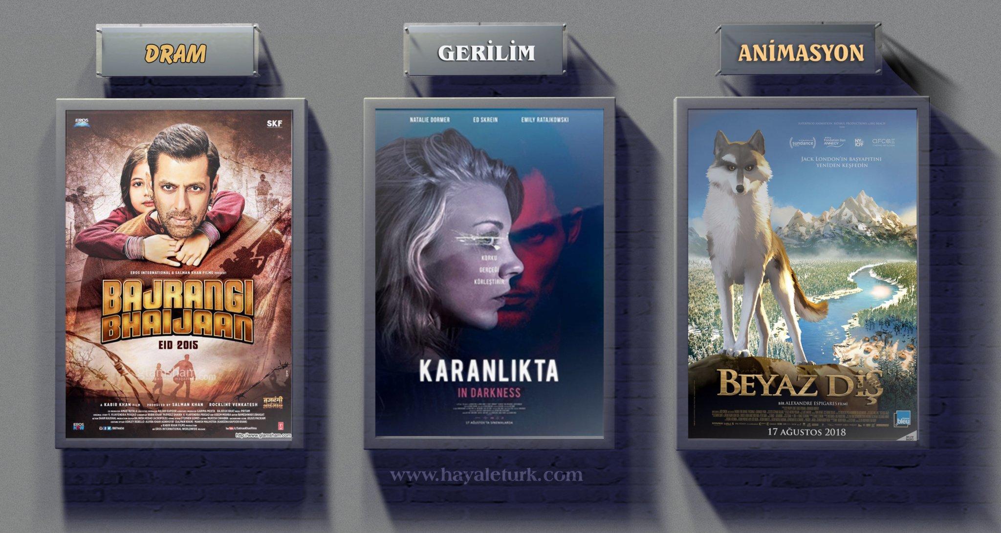Sinemalarda bu hafta 9 Film vizyonda 17 - 24 Ağustos 2018