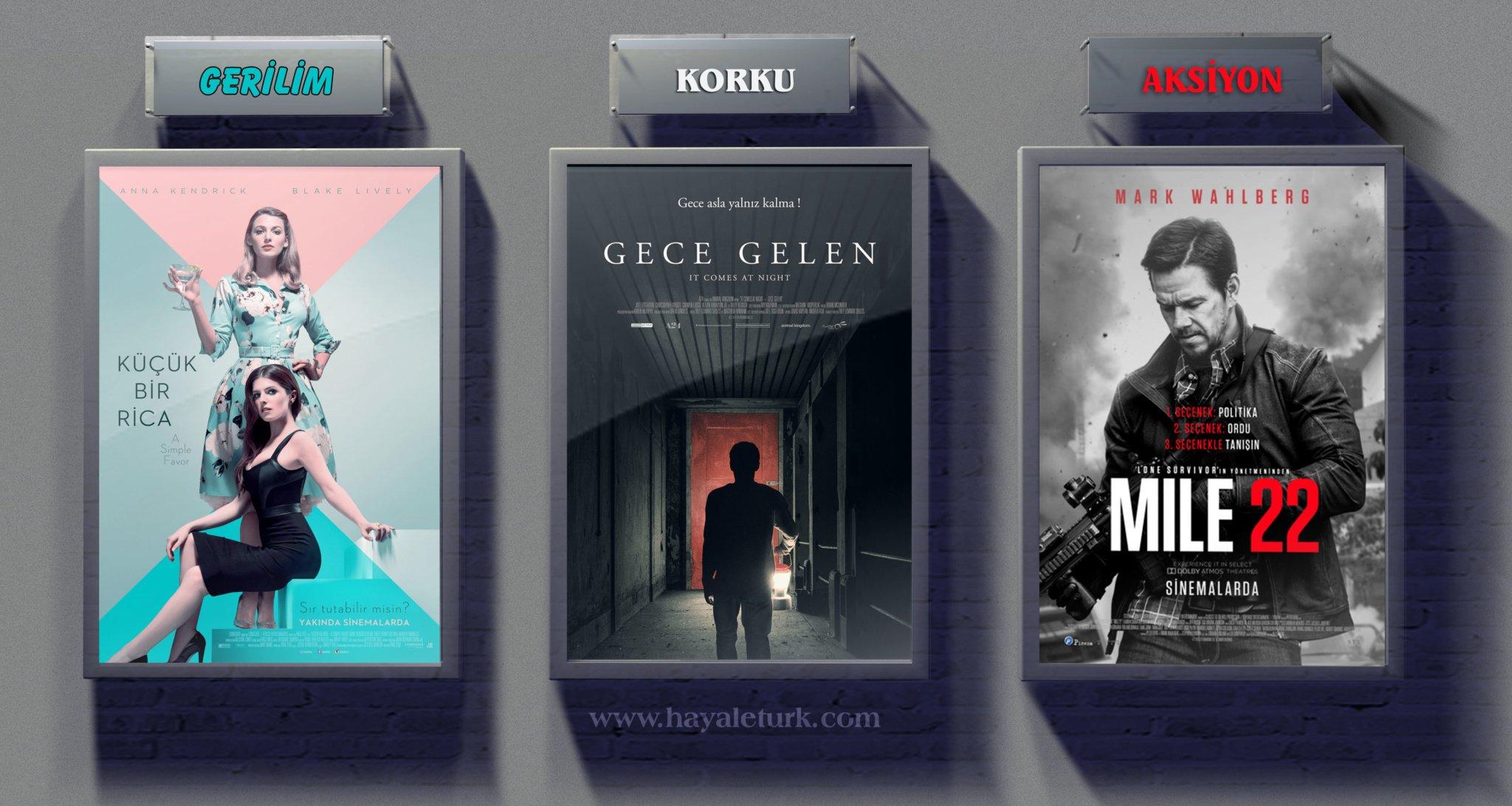 Sinemalarda bu hafta 11 Film vizyonda 15 - 22 Eylül 2018