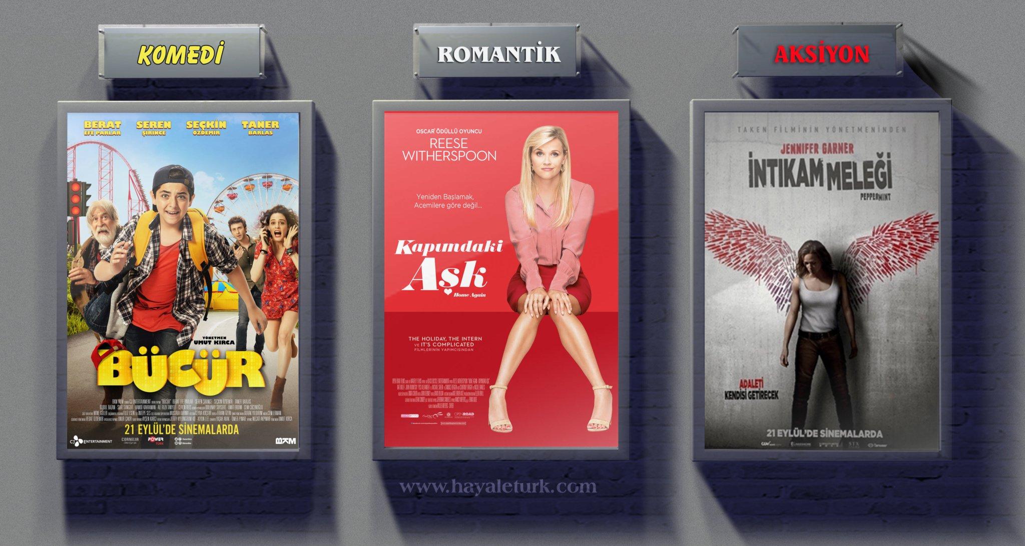 Sinemalarda bu hafta 11 Film vizyonda 22-29 Eylül 2018