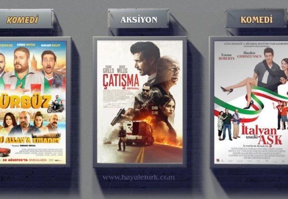Sinemalarda bu hafta 7 Film vizyonda 31 Ağustos – 7 Eylül 2018