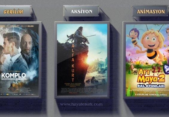Sinemalarda bu hafta 7 Film vizyonda 7 - 15 Eylül 2018