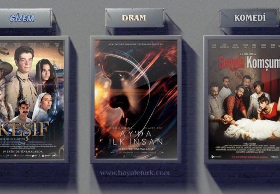 Sinemalarda bu hafta 8 Film vizyonda 19 – 26 Ekim 2018
