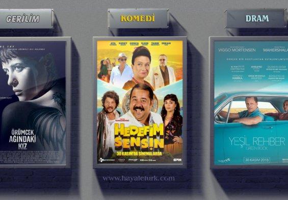 Sinemalarda bu hafta 7 Film vizyonda 30 Kasım - 7 Aralık 2018