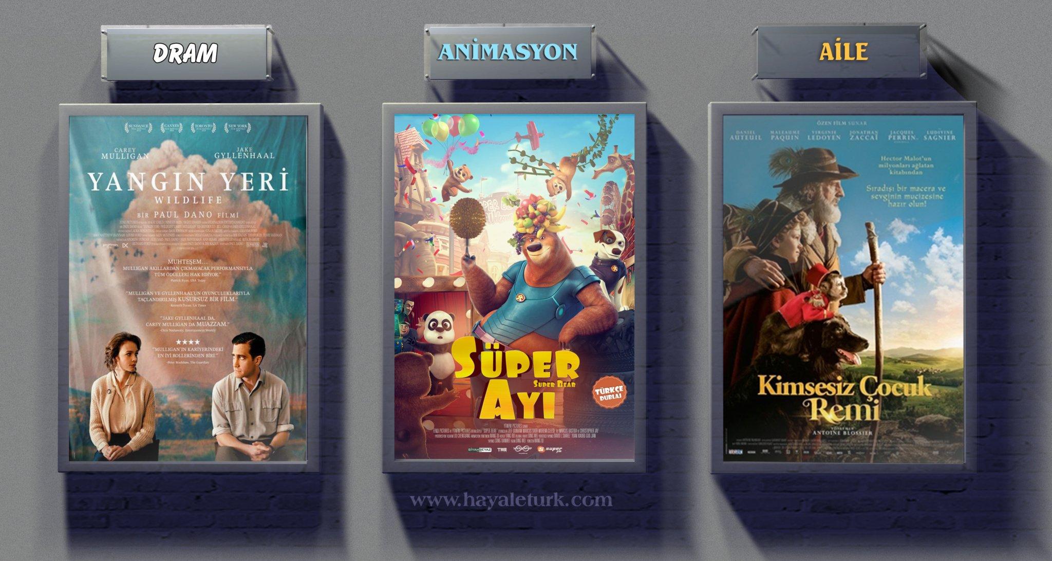 Sinemalarda bu hafta 8 Film vizyonda 4 - 11 Ocak 2019