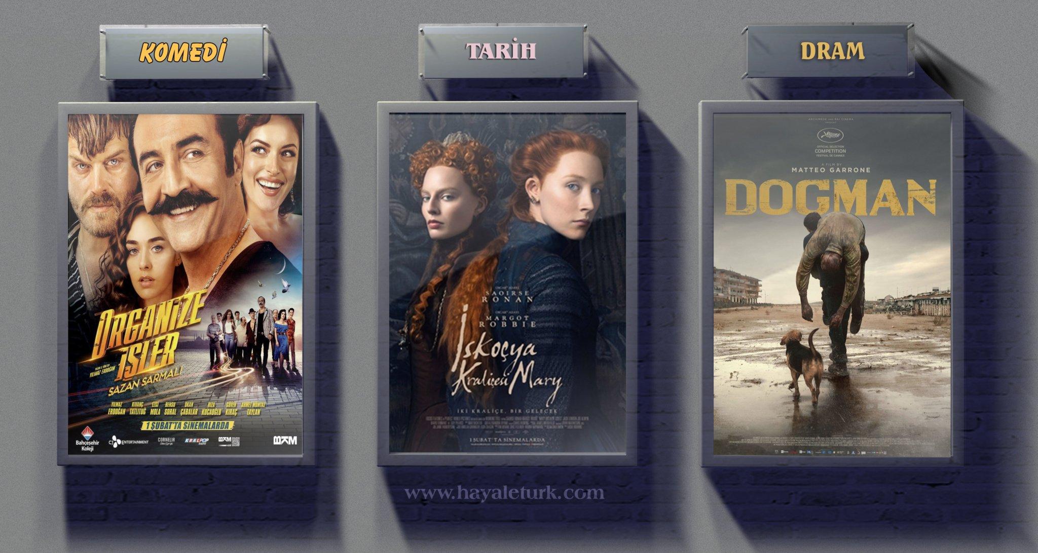 Sinemalarda bu hafta 4 Film vizyonda 1 - 8 Şubat 2019